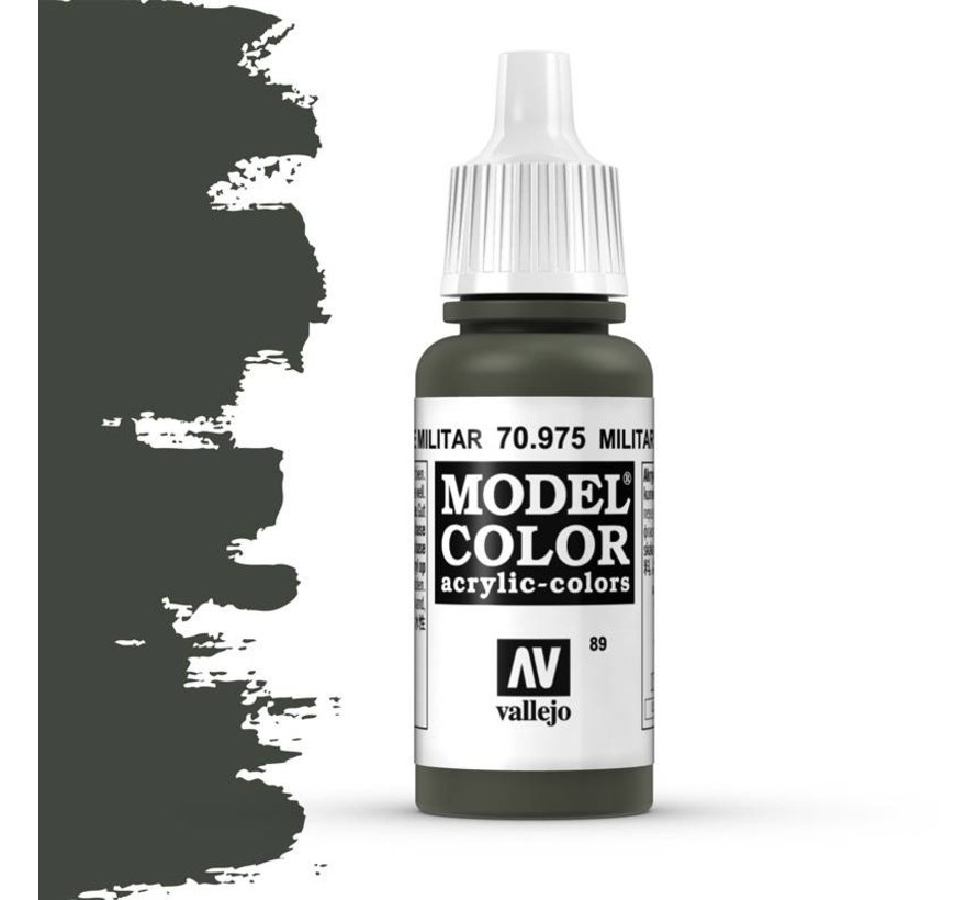 Model Color Military Green -17ml -70975