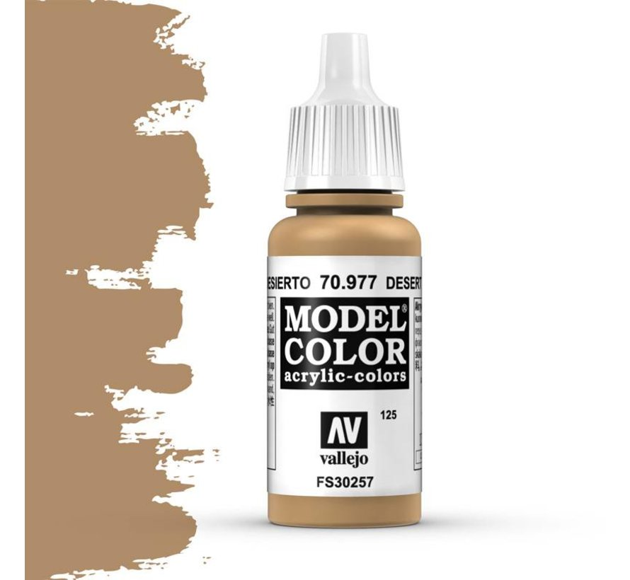 Model Color Desert Yellow -17ml -70977