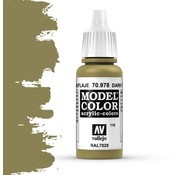 Vallejo Model Color Dark Yellow -17ml -70978