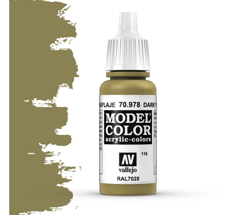 Model Color Dark Yellow -17ml -70978