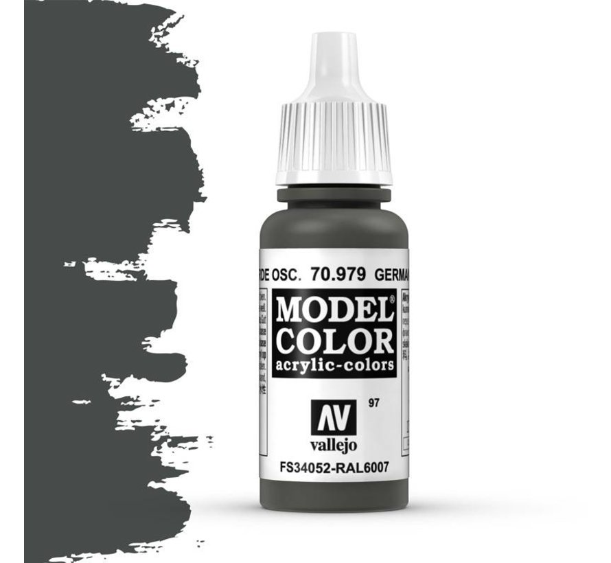 Model Color German Camouflage Darkgreen -17ml -70979