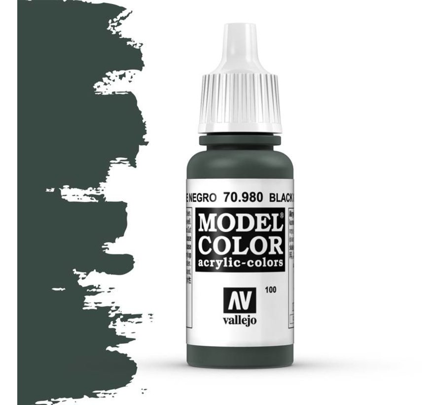 Model Color Black Green -17ml -70980