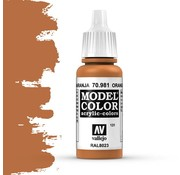 Vallejo Model Color Orange Brown -17ml -70981
