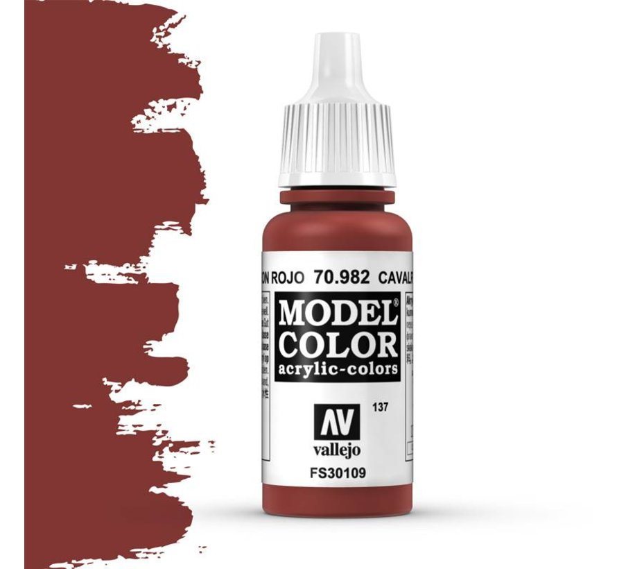 Model Color Cavalry Brown -17ml -70982