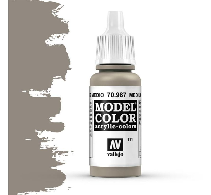 Model Color Medium Grey -17ml -70987