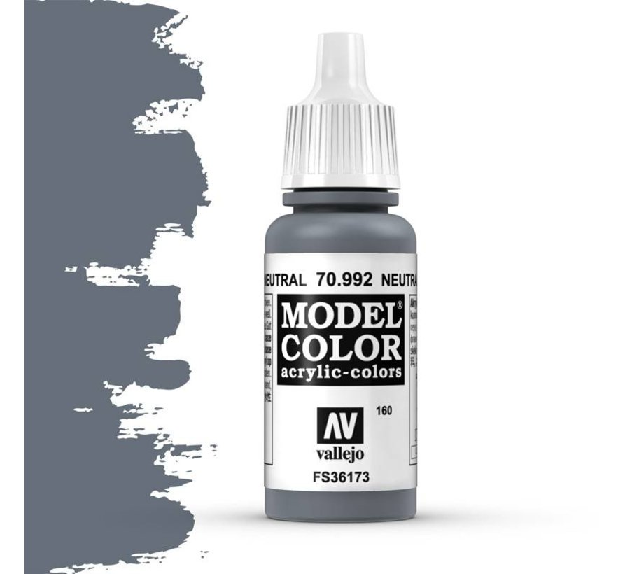 Model Color Neutral Grey -17ml -70992