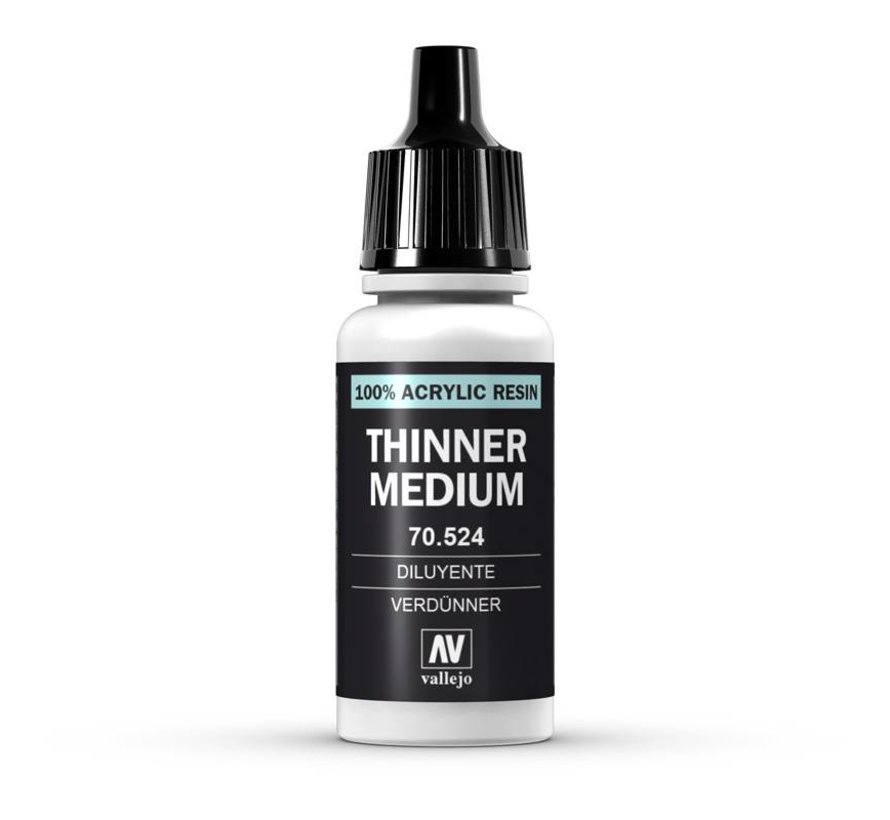 Thinner Medium - 17ml - 70524