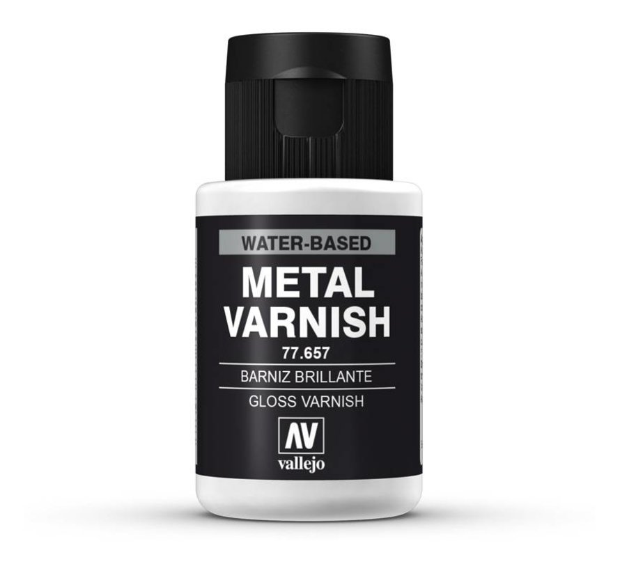 Gloss Metal Varnish - 32ml - 77657