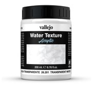 Vallejo Transparant Water - 200ml - 26201
