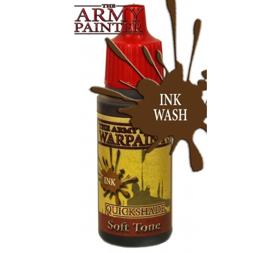 The Army Painter QS Soft Tone Ink - Warpaint - 18ml - WP1134