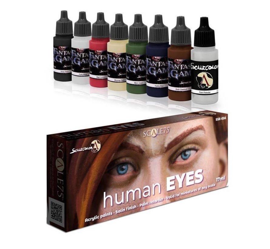 Human Eyes - Fantasy & Games - 8 kleuren - 17ml - SSE-056