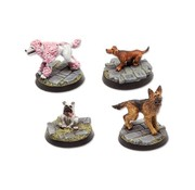 Tabletop-Art Dogs Set 3 - 4x - TTA200210
