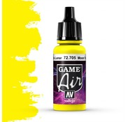 Vallejo Game Air Moon Yellow - 17ml - 72705