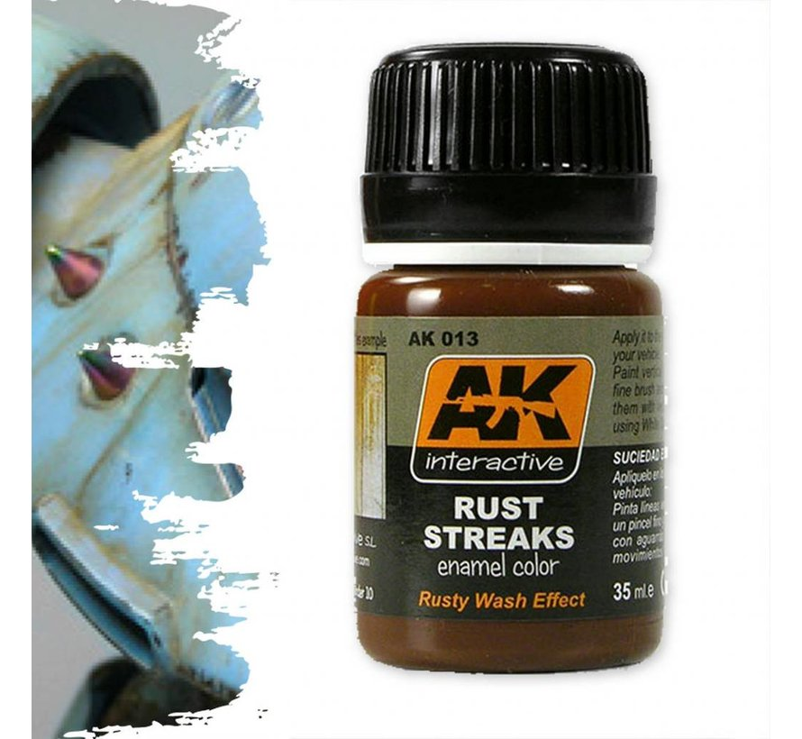 Rust Streaks - AK Weathering Products - 35ml - AK-013