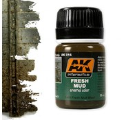 AK interactive Fresh Mud Effects - AK Weathering Products - 35ml - AK-016