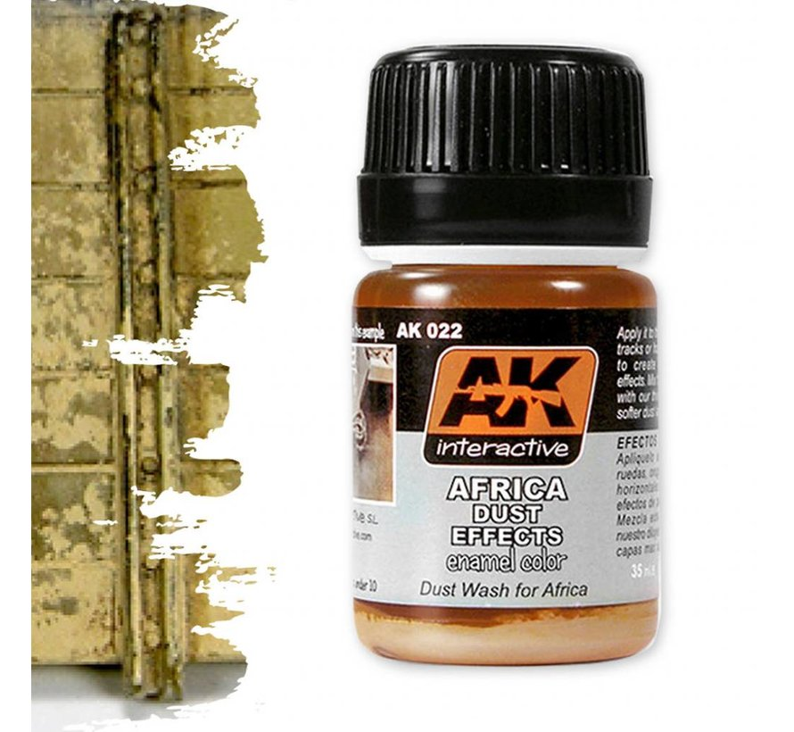 Africa Dust Effects - Nature Weathering - 35ml - AK-022