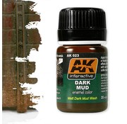 AK interactive Dark Mud Effects - Nature Weathering - 35ml - AK-023