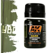 AK interactive Streaking Grime For Dark Vehicles - Streaking Weathering - 35ml - AK-024