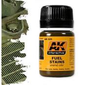 AK interactive Fuel Stains - AK Weathering - 35ml - AK-025