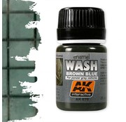 AK interactive Wash For Panzer Grey Vehicles - Weathering Wash - 35ml - AK-070