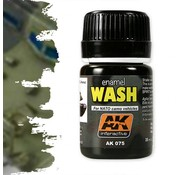 AK interactive Wash For Nato Vehicles - Weathering Wash - 35ml - AK-075