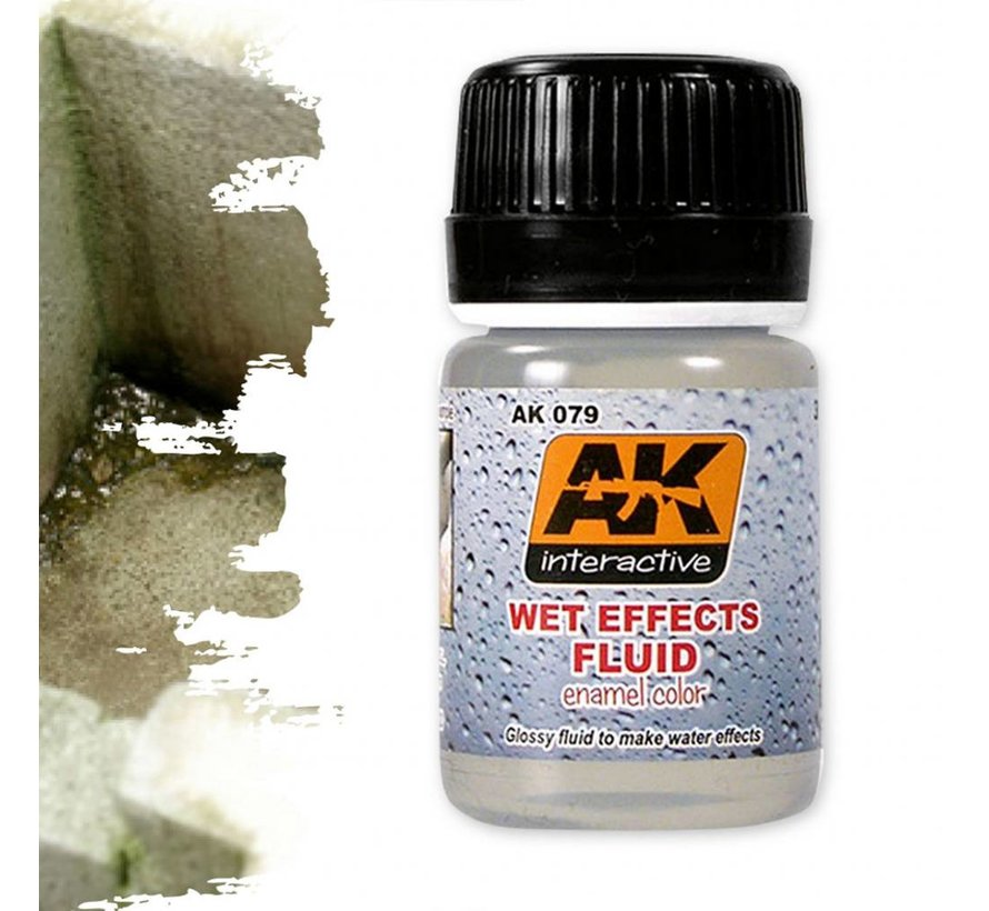 Wet Effects Fluid - Nature Weathering - 35ml - AK-079