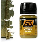 AK interactive Summer Kursk Earth Effects - Nature Weathering - 35ml - AK-080