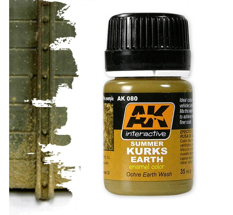 Summer Kursk Earth Effects - Nature Weathering - 35ml - AK-080