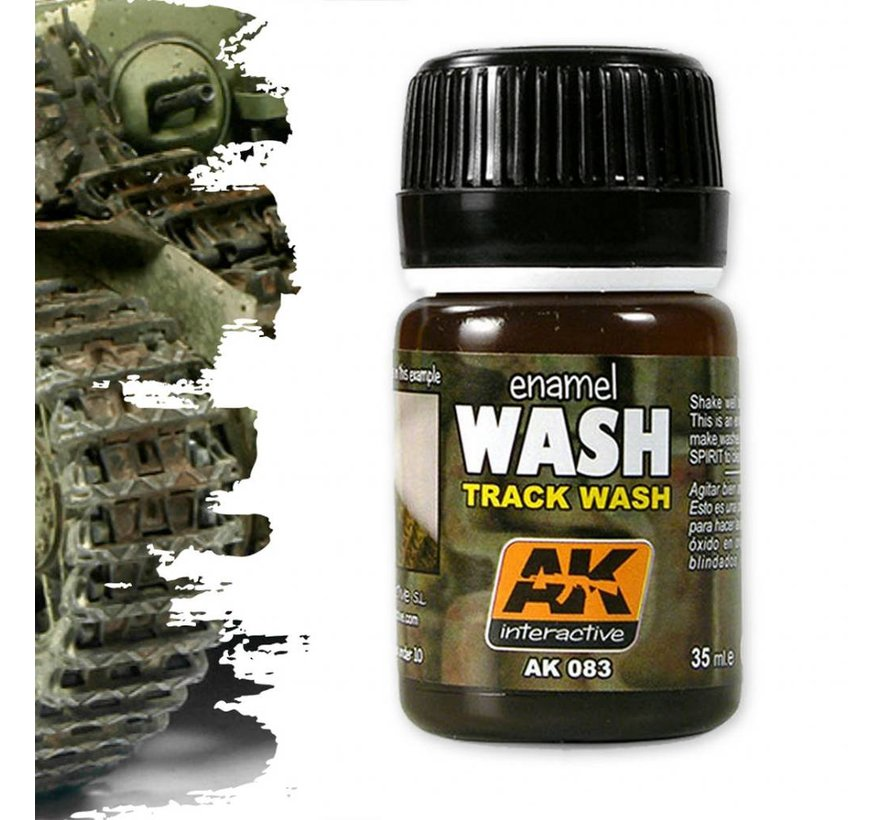 Track Wash - AK Weathering Products - 35ml - AK-083