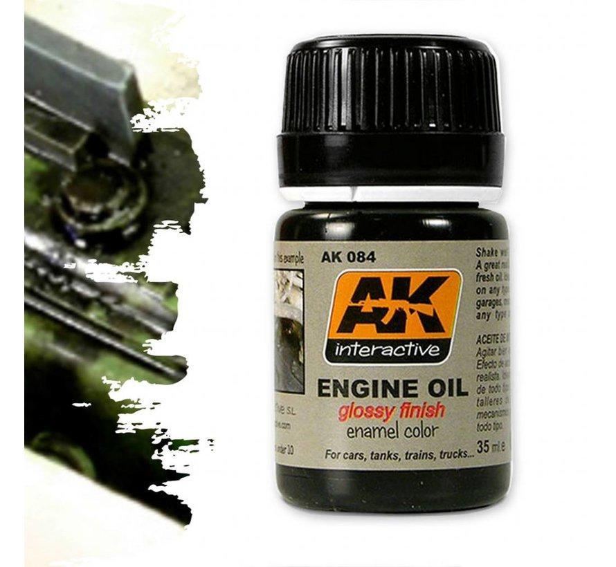Engine Oil - Streaking Weathering - 35ml - AK-084