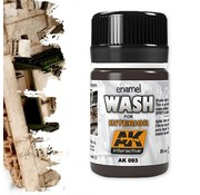 AK interactive Wash For Interiors - Weathering Wash - 35ml - AK093