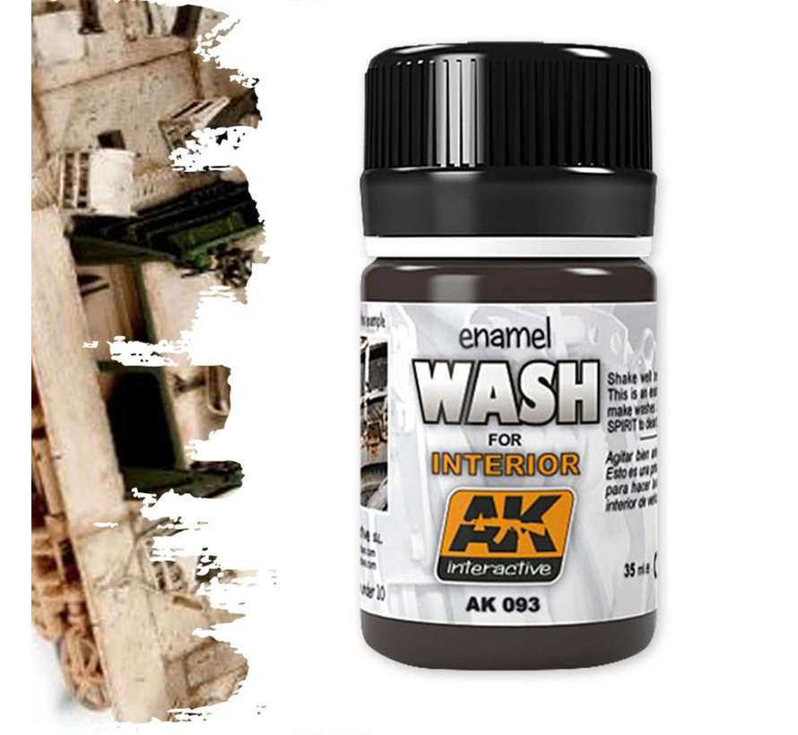 Wash For Interiors - Weathering Wash - 35ml - AK-093