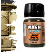 AK interactive Wash For OIF & OEF - US Vehicles - Weathering Wash - 35ml - AK-121