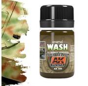 AK interactive Wash For Dark Yellow Vehicles - Weathering Wash - 35ml - AK-300