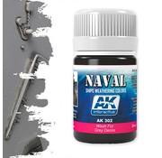 AK interactive Wash For Grey Decks - Naval Ships Weathering - Wash - 35ml - AK-302