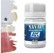AK interactive Salt Streaks For Ships - Zeeschepen Weathering - Streaking - 35ml - AK-306