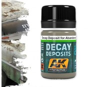 AK interactive Decay Deposit For Abandoned Vehicles - Deposit Weathering - 35ml - AK-675