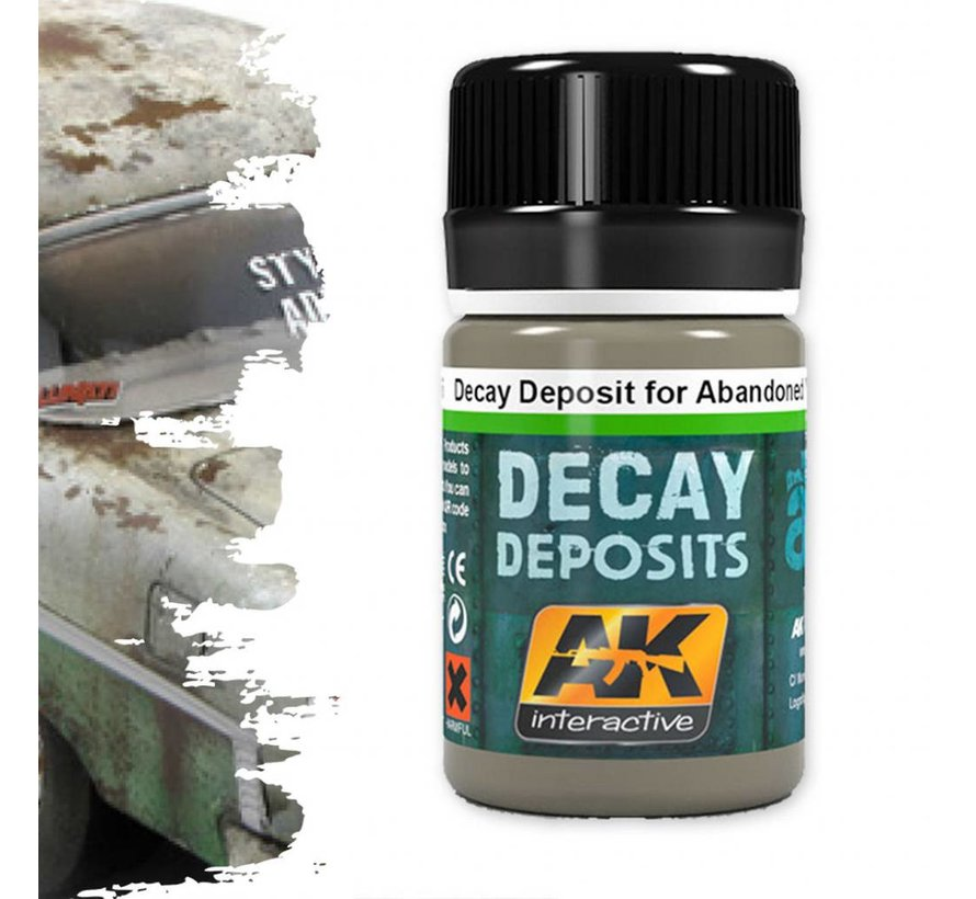Decay Deposit For Abandoned Vehicles - Deposit Weathering - 35ml - AK-675
