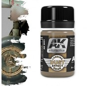 AK interactive Landing Gear Dust - Air Series - Nature Weathering - 35ml - AK-2031