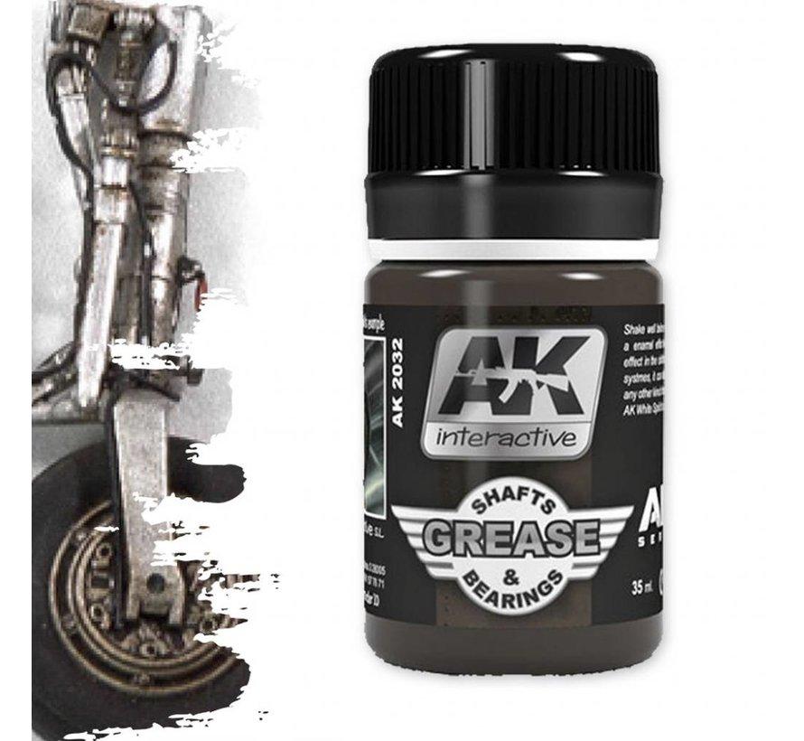Grease Shafts & Bearings - Air Series - AK Weathering - 35ml - AK-2032
