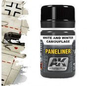 AK interactive Paneliner For White And Winter Camouflage - Air Series - AK Weathering - 35ml - AK-2074