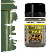 AK interactive Sand Yellow Deposit - Deposit Weathering - 35ml - AK- 4061