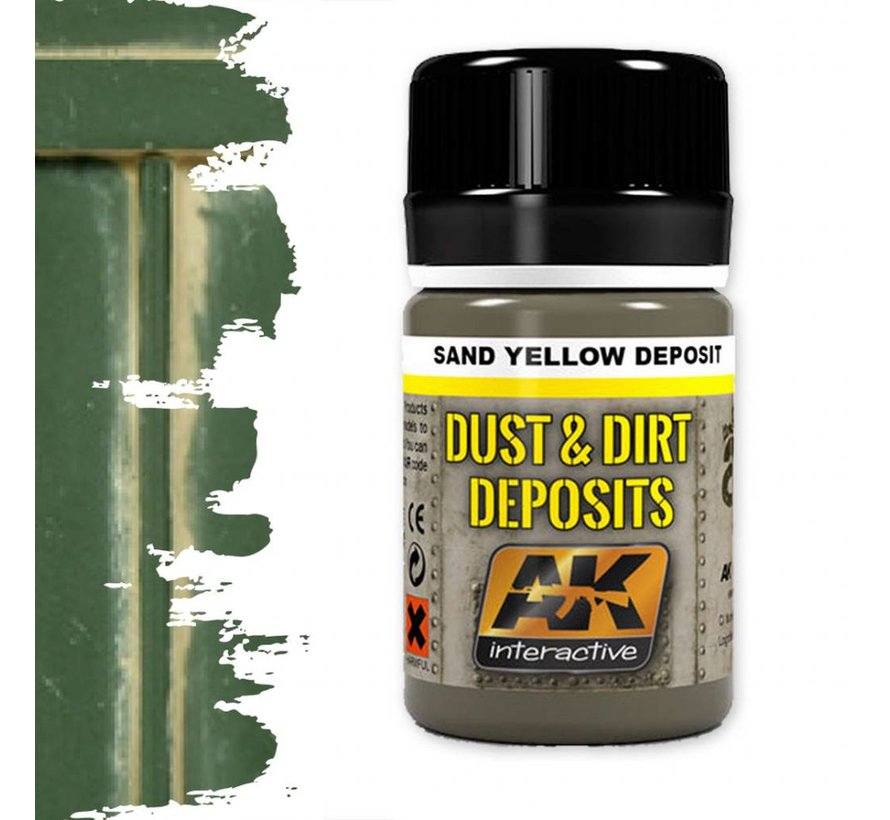 Sand Yellow Deposit - Deposit Weathering - 35ml - AK- 4061