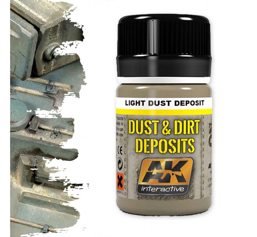 Light Dust Deposit - Deposit Weathering - 35ml - AK- 4062