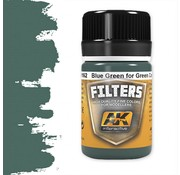 AK interactive Blue Green For Green Camo - Weathering Filter - 35ml - AK-4162