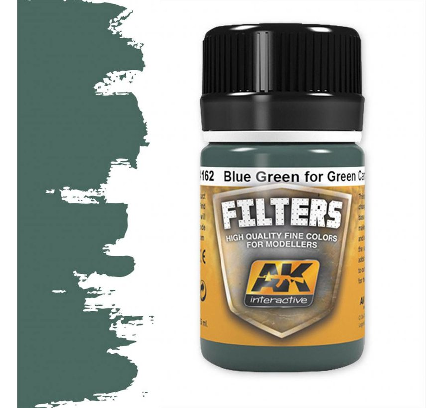 Blue Green For Green Camo - Weathering Filter - 35ml - AK-4162