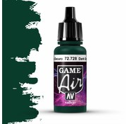 Vallejo Game Air Dark Green - 17ml - 72728