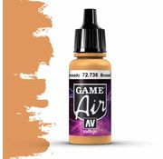 Vallejo Game Air Bronze Fleshtone - 17ml - 72736