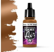 Vallejo Game Air Bright Bronze - 17ml - 72757