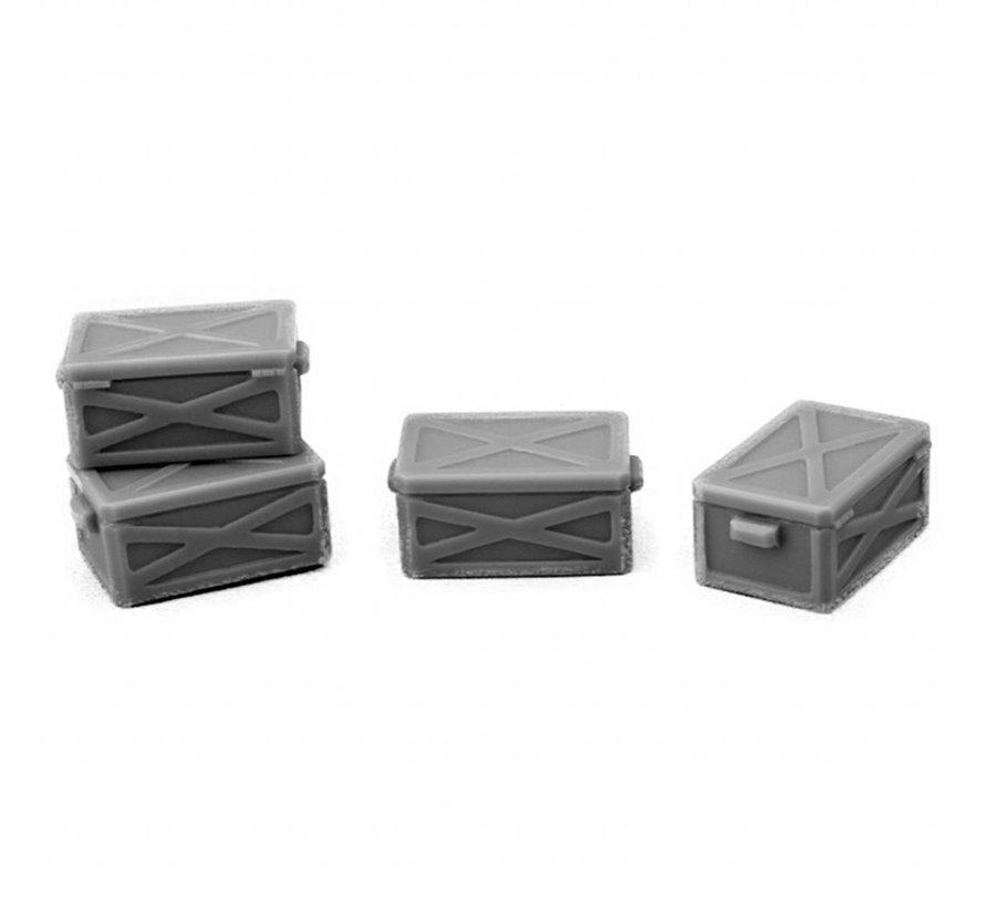 Metal Boxes - 4x - MM-0032